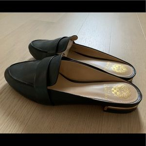 Vince Camuto Leather Mule Slides